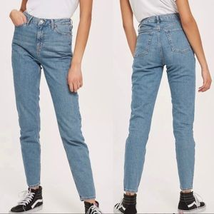 Topshop moto orson jeans high waisted